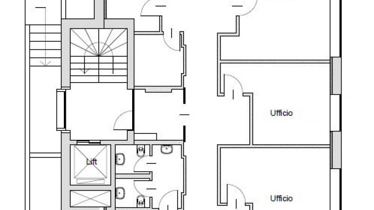 Ufficio rappresentativo al 2° piano - in pieno centro