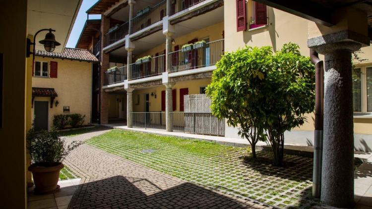 4.5 locali mansardato in tipica casa ticinese a Stabio